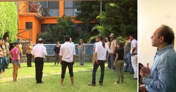 OCTAVIO REYES SALAS - Profesor Investigador de la Facultad de Química de la UNAM y Secretario General de la Sociedad Antroposófica Rama de la Ciudad de México.